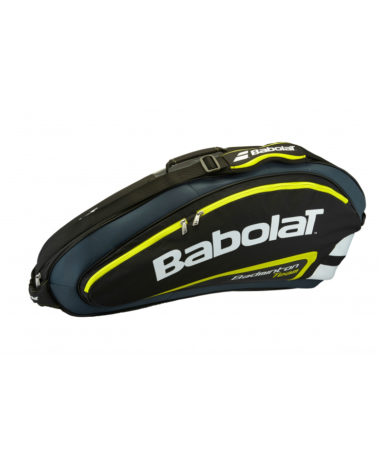 Yellow badminton bag