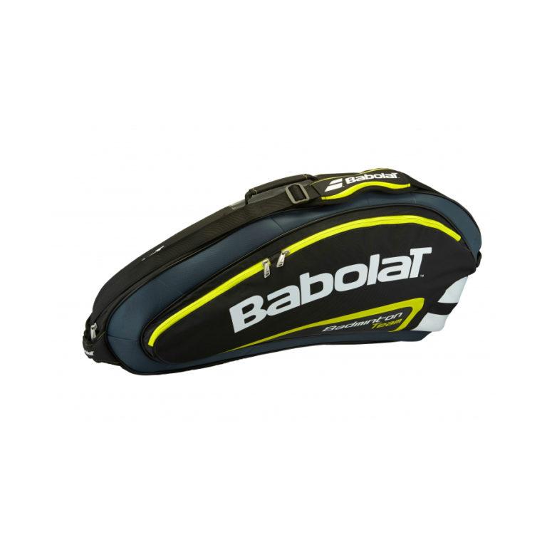 Yellow badminton bag