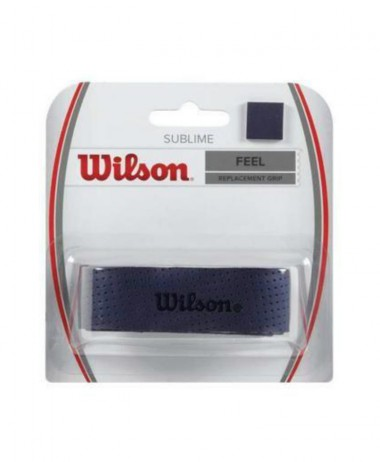 Wilson Sublime Replacement Grip - Blue tennis