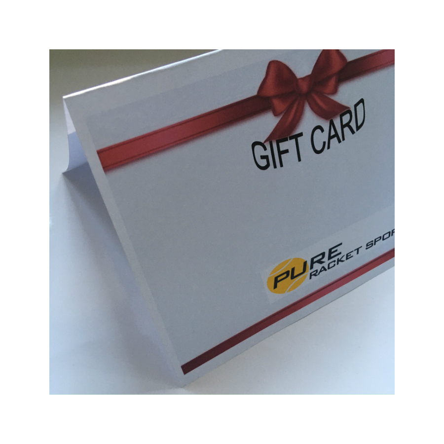 gIFT VOUCHER FROM PURE RACKET SPORT - pERSONALISE YOUR MESSAGE