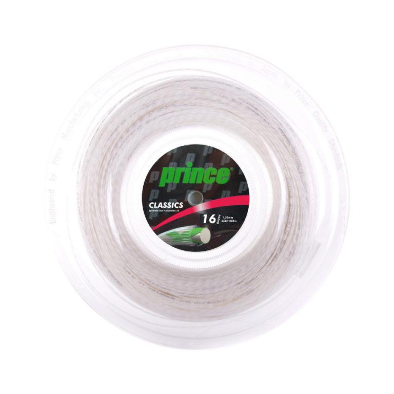 Prince Syn Gut Duraflex White tennis string  200m