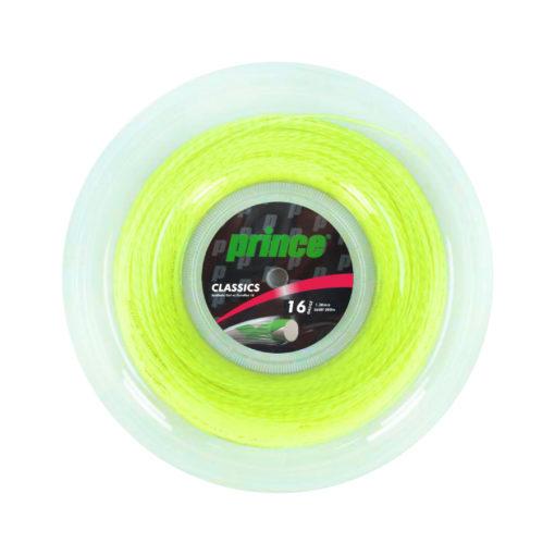 Prince Syn Gut Duraflex Yellow tennis string 200m
