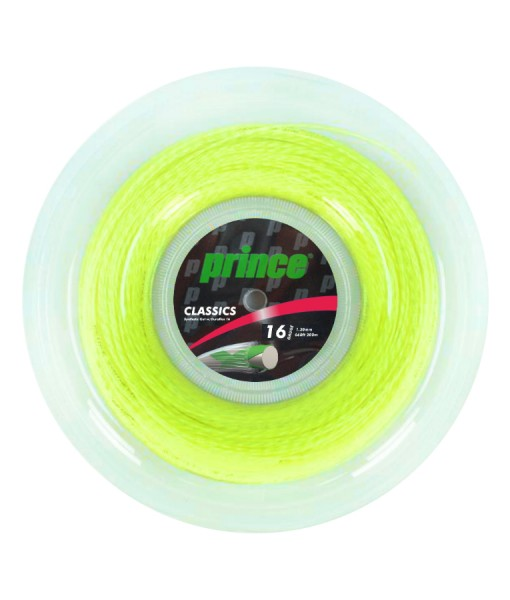 Prince Syn Gut Duraflex Yellow tennis string 200m