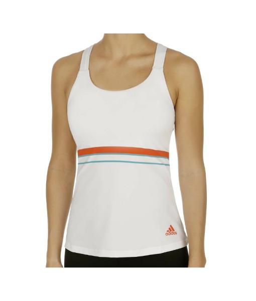 Adidas Ladies Tennis Tank – White