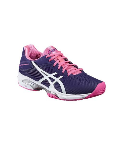 Asics Ladies Gel-Solution Speed 3 Tennis Shoe