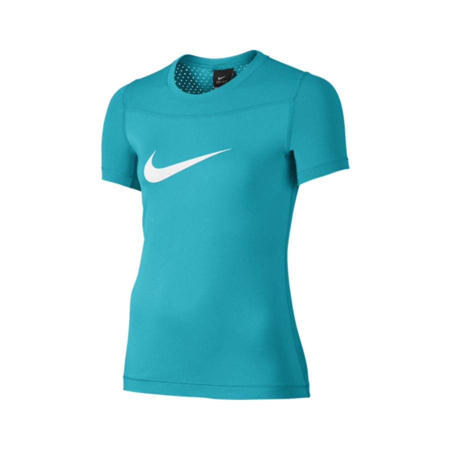 nike girls pro hypercool t shirt pure racket sport. Black Bedroom Furniture Sets. Home Design Ideas
