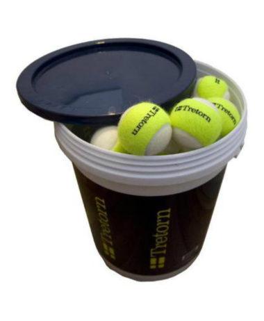 Tretorn Micro-X Trainer Tennis Ball 6 Doz Bucket