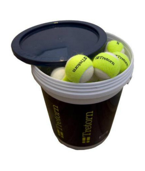 Tretorn Micro-X Trainer Tennis Ball 6 Doz Bucket