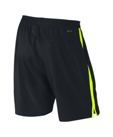Nike Court Mens Black Volt Tennis Shorts