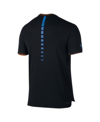 Nike mens Rafa Challenger Top Black tee