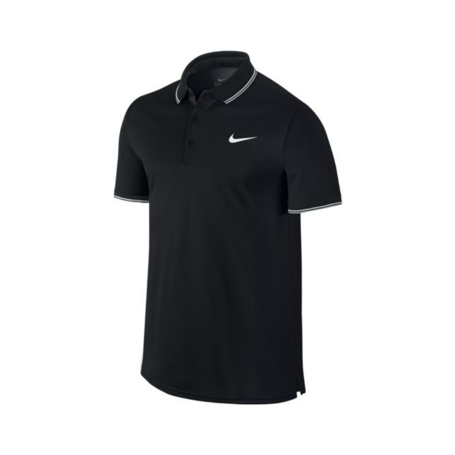 cf6db5aa938205 NIKE MENS COURT POLO T-SHIRT - Tennis   Squash   Badminton - Pure ...