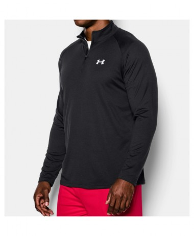Under Armour UA Tech Black Zip Long Sleeve