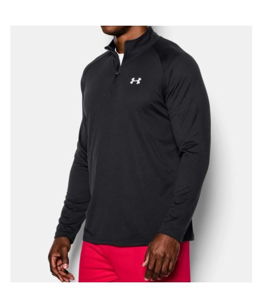 Under Armour UA Tech Black Zip Long Sleeve