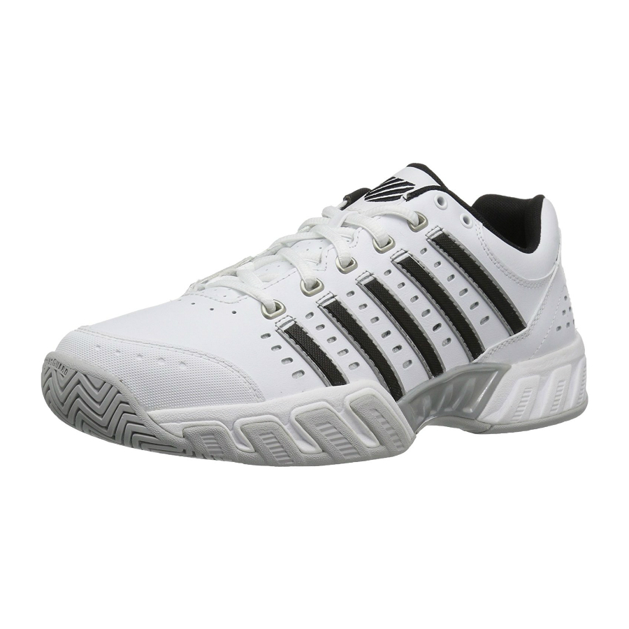 K SWISS BIGSHOT LIGHT LTR (Leather) CARPET – Mens IndoorTennis Shoe