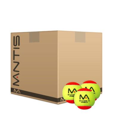 Mantis Mini Red Tennis Balls dozen