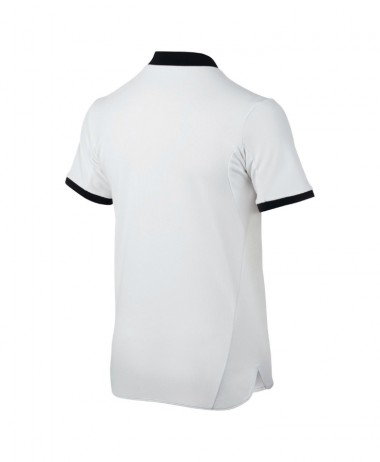 Nike boys white tennis polo