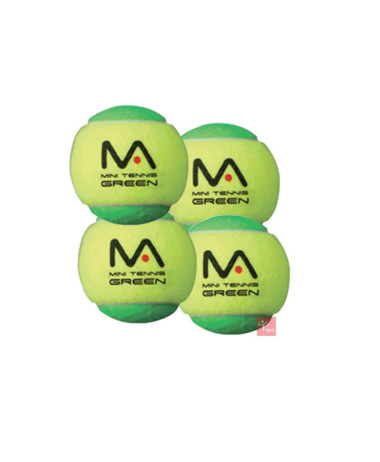 mANTIS sTAGE 1 gREEN tENNIS BALLS