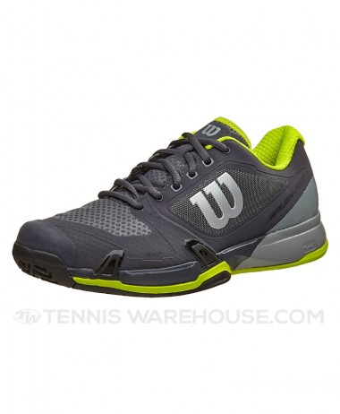 Wilson Rush Pro mens tennis shoe Ebony