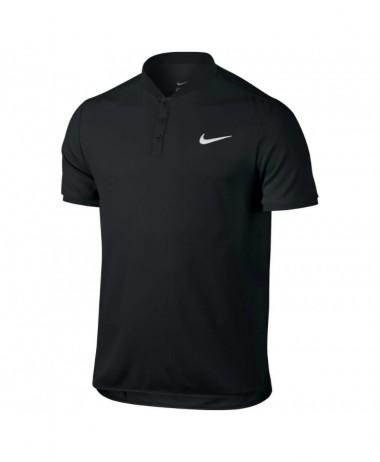 nikecourt Black tennis Polo