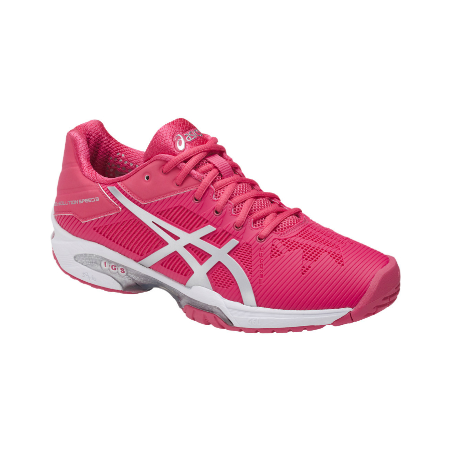 a0e6dc2dd1d28 ASICS GEL-SOLUTION SPEED 3 Ladies Tennis Shoe - Pure Racket Sport