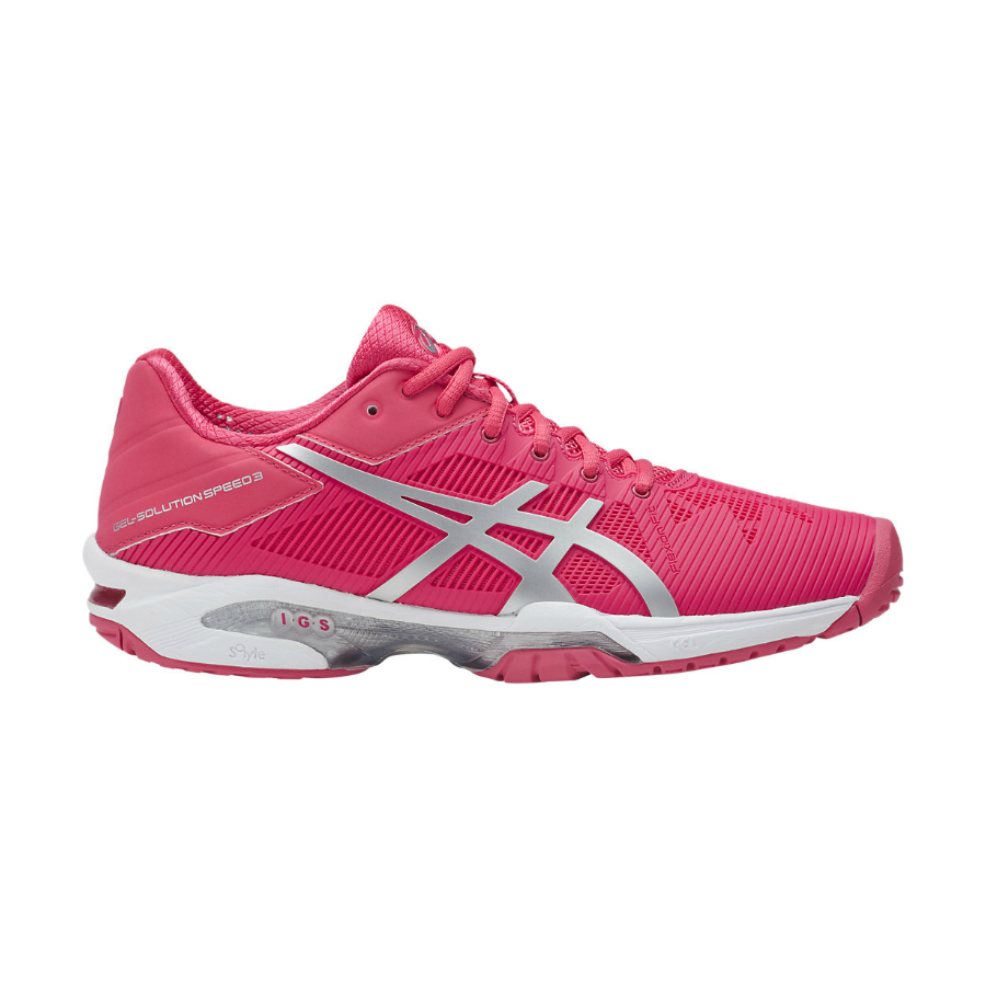 ASICS GEL-SOLUTION SPEED 3 Ladies Tennis Shoe - Pure ...