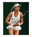 Moden in tennis visor