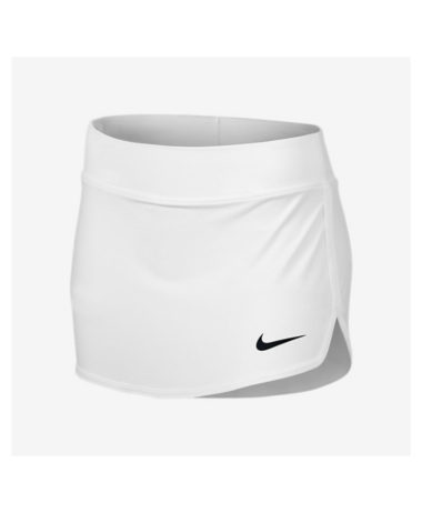 Nike girls pure tennis skirt - white