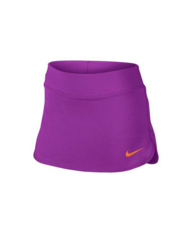 NIKE GIRLS PURE TENNIS SKIRT - PURPLE