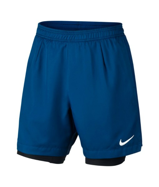 Nike mens nikecourt baseline rib shors