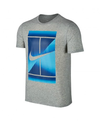 Mens nikecourt dry tennis top