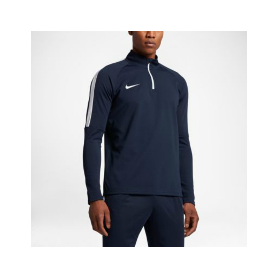 dec080ad NIKE MENS ACADEMY LONG SLEEVE TENNIS TOP - Dark Blue - Pure Racket Sport