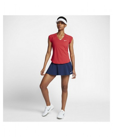 Nike ladies pure top red