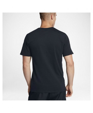 Nike mens nikecourt tee black