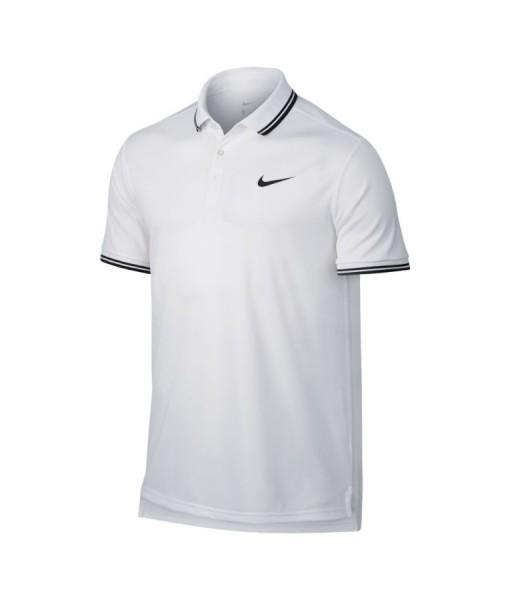 Nikecourt Dry tennis polo white
