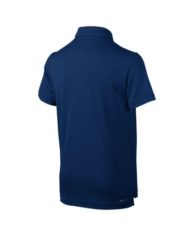 boys nike dry tennis polo blue