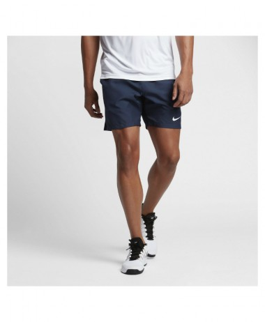 Nike court mens tennis shorts navy
