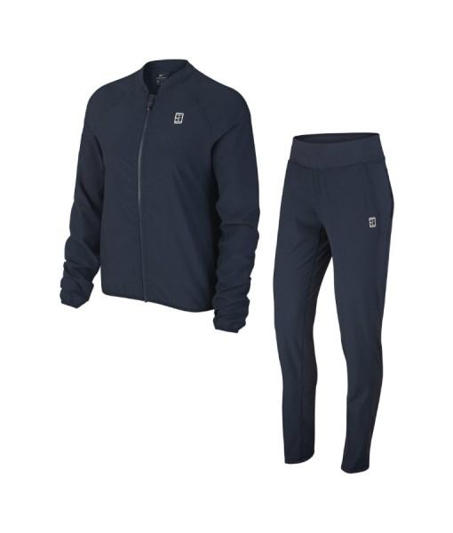 Nike ladies warm up tennis suit Blue
