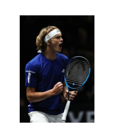 Alexander+Zverev playing with Head Graphene Touch Speed MP Limited Edition racket