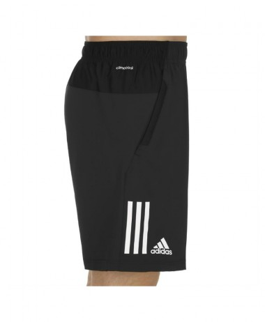 Adidas boys club shorts black tennis