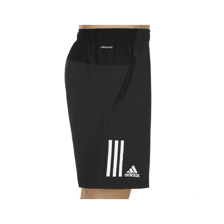 3deb78de8d ADIDAS BOYS CLUB 3S Tennis Shorts - Black - Pure Racket Sport