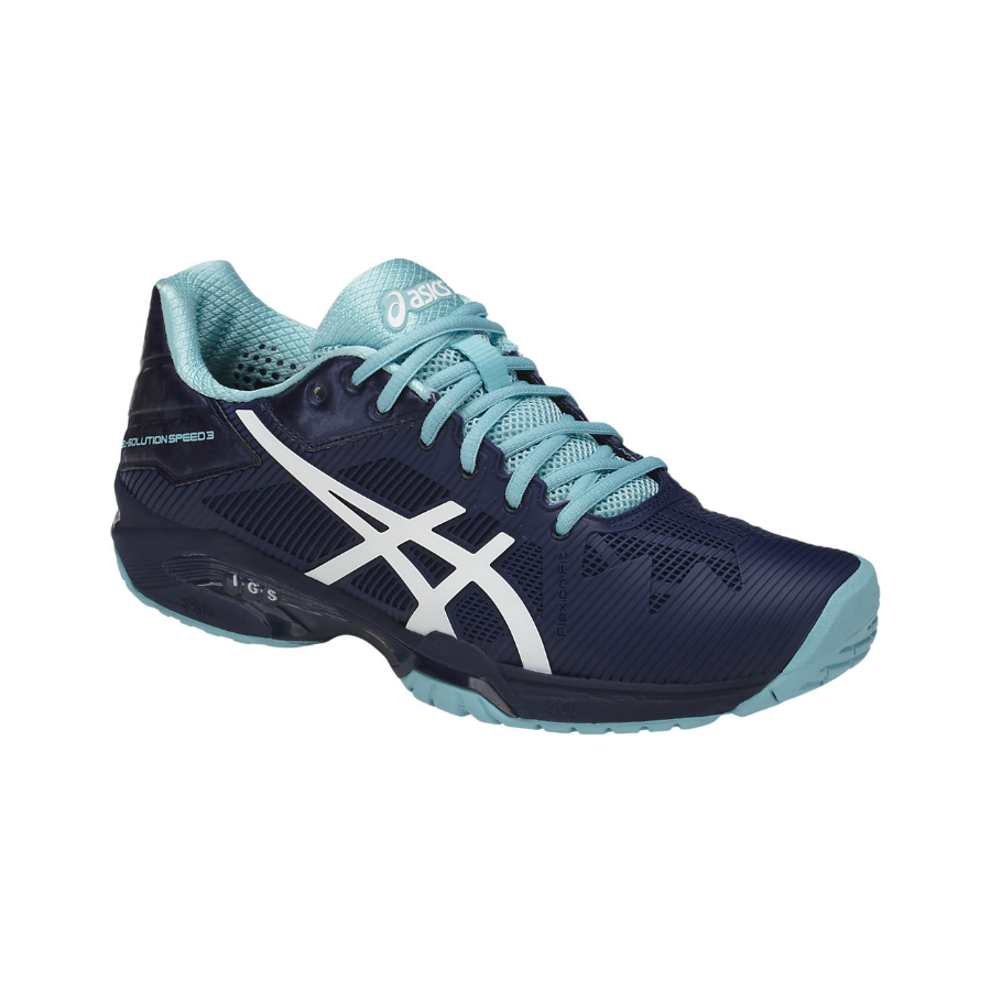 Asics Gel Solution Speed 3 Tennis Shoe 2018 Pure Racket