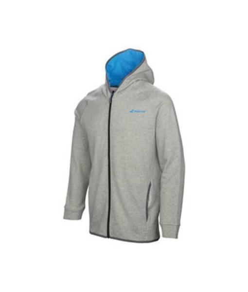 Babolat boys grey hoodie