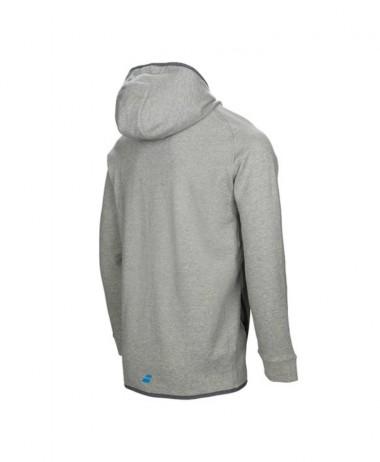 Babolat grey hoodie