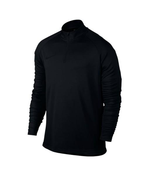 Nike mens academy long sleeve tennis top black
