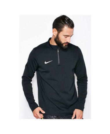 Nike mens long sleeve tennis top black
