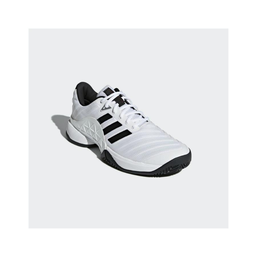 08b34870af5 ADIDAS BARRICADE 2018 Mens Tennis Shoe - Pure Racket Sport