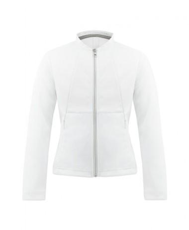 Poivre Blanc White ladies tennis jacket