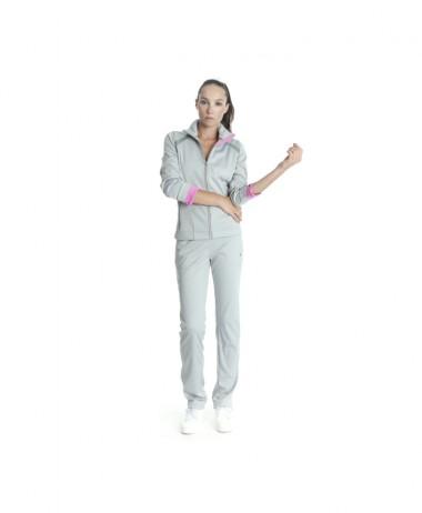Poivre Blanc ladies tennis jacket grey