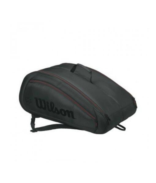 Wilson Federer team Racket Bag black