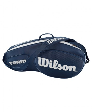 Wilson Team III x 3 Racket Bag blue